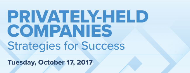 privately-held companies event